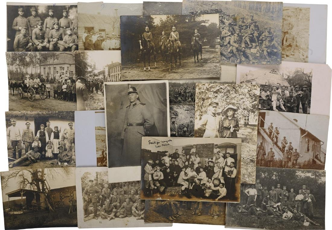 Lot of 29 First World War Postcards and Photos, German