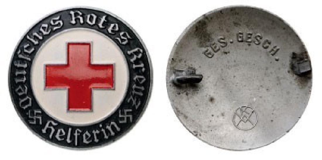 German Red Cross Helferin Badge