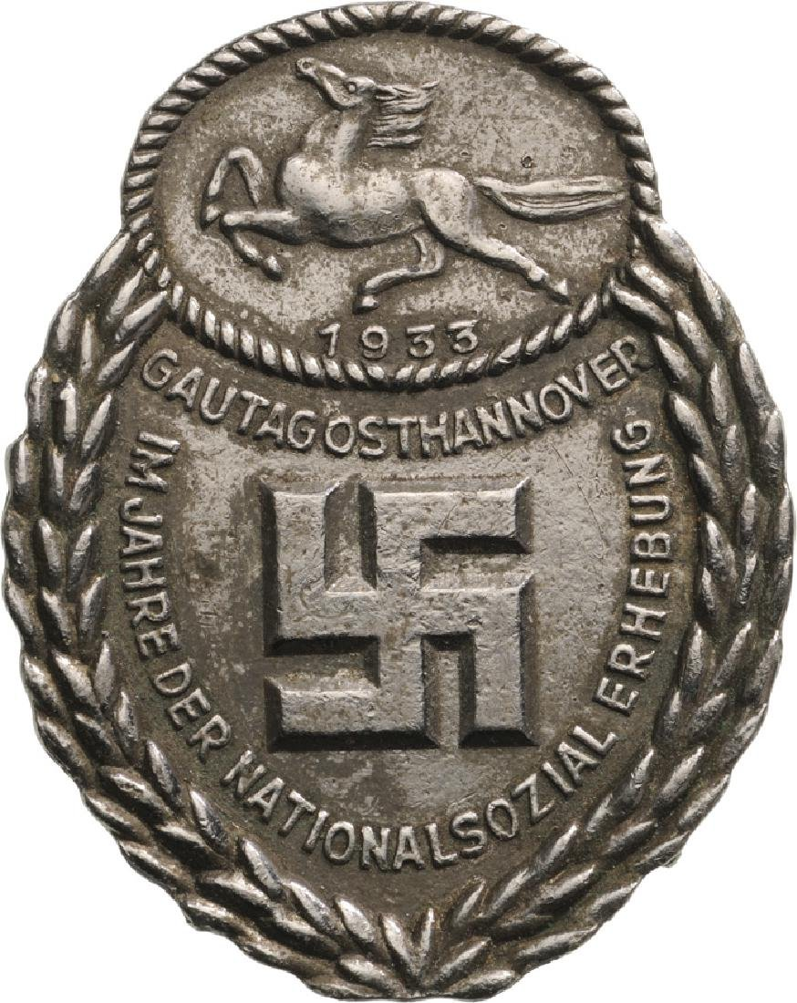 Commemorative and Honour Badge of the Gau Ost-Hannover,