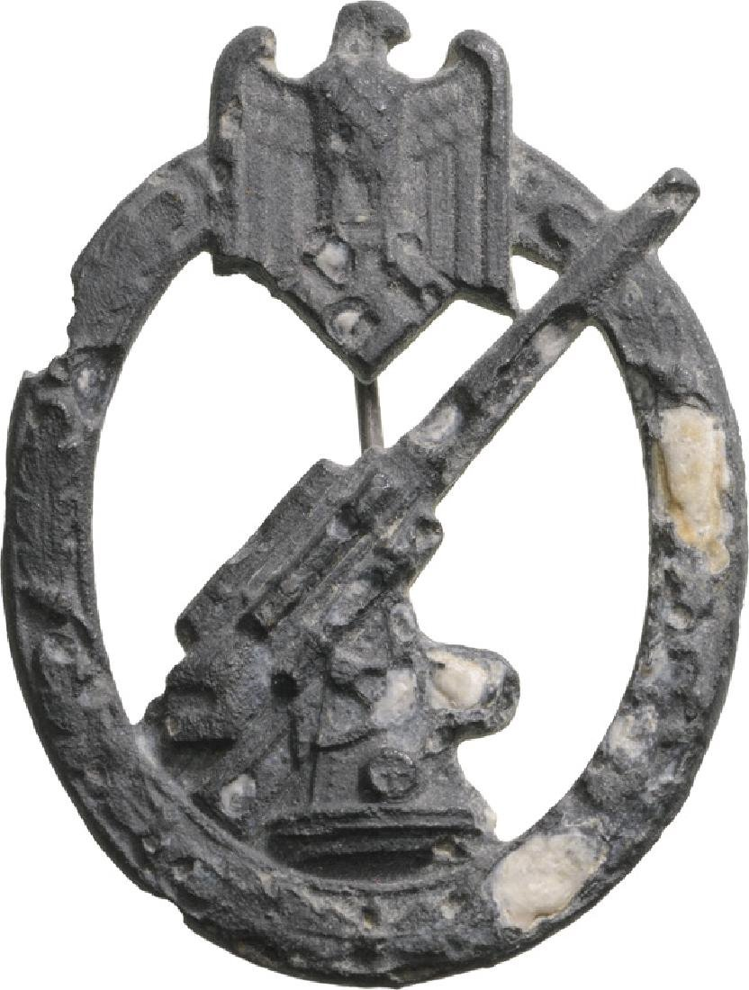 Wehrmacht Heer (Army) Flak Badge, instituted in 1941