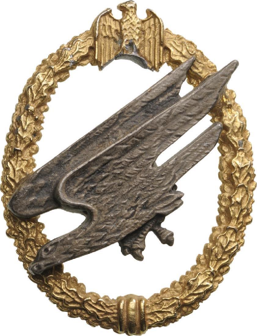 Luftwaffe Fallschirmjäger Badge (Paratrooper Badge)
