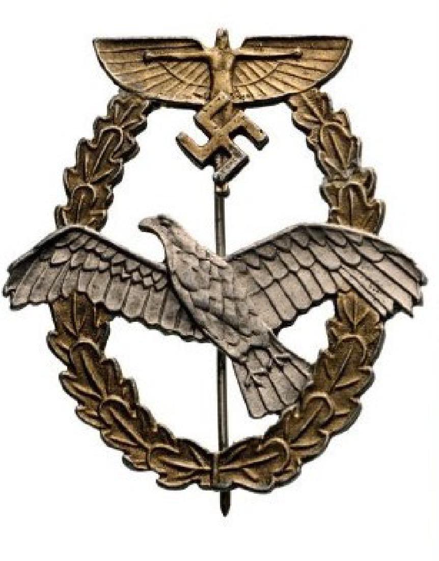 NS Fliegerkorps Pilot Badge, Type III, instituted in