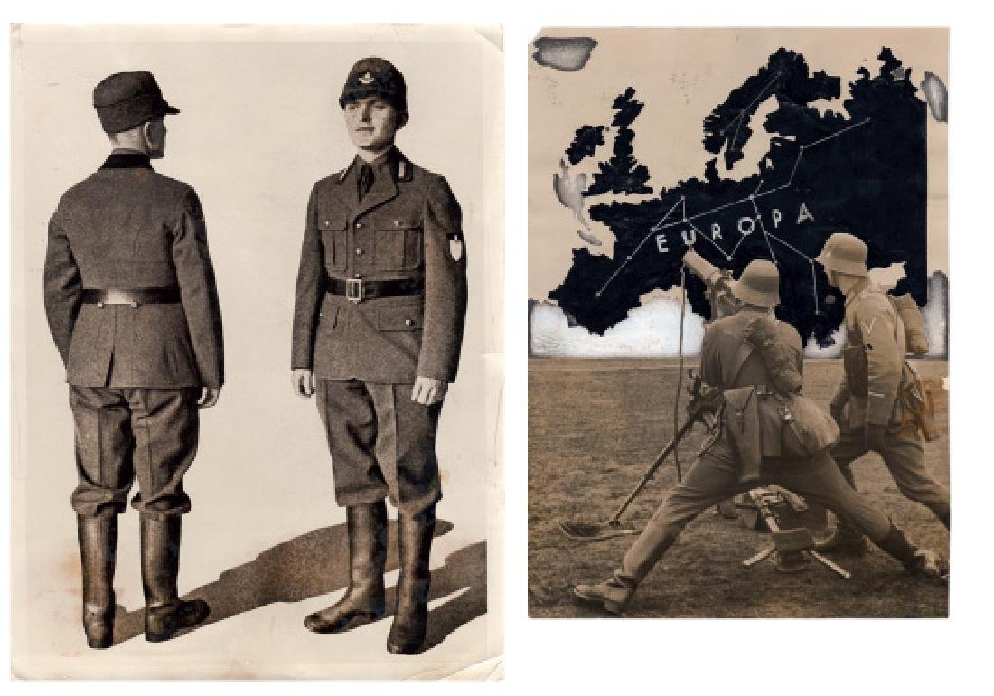 A lot of 3 original press photos
