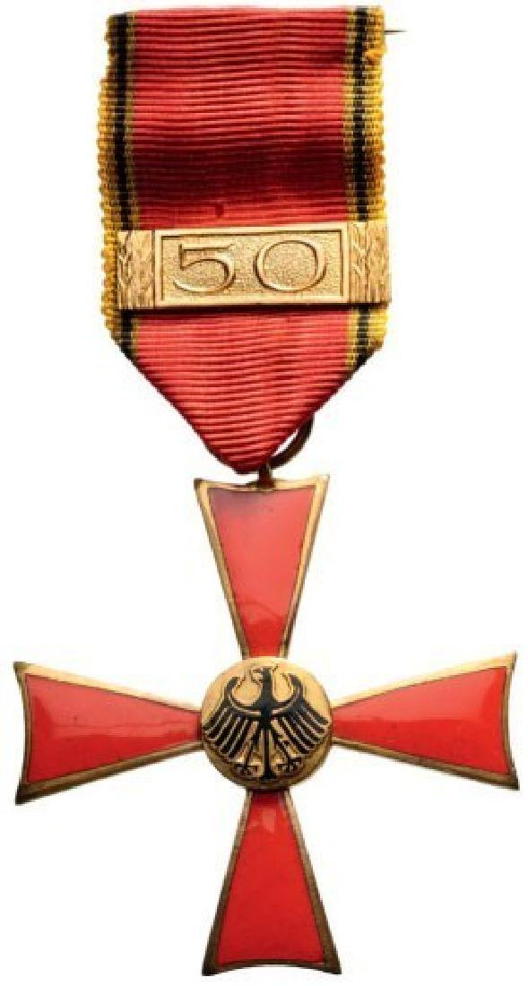 Order of the Bundes Republik Deutschland Merit Cross