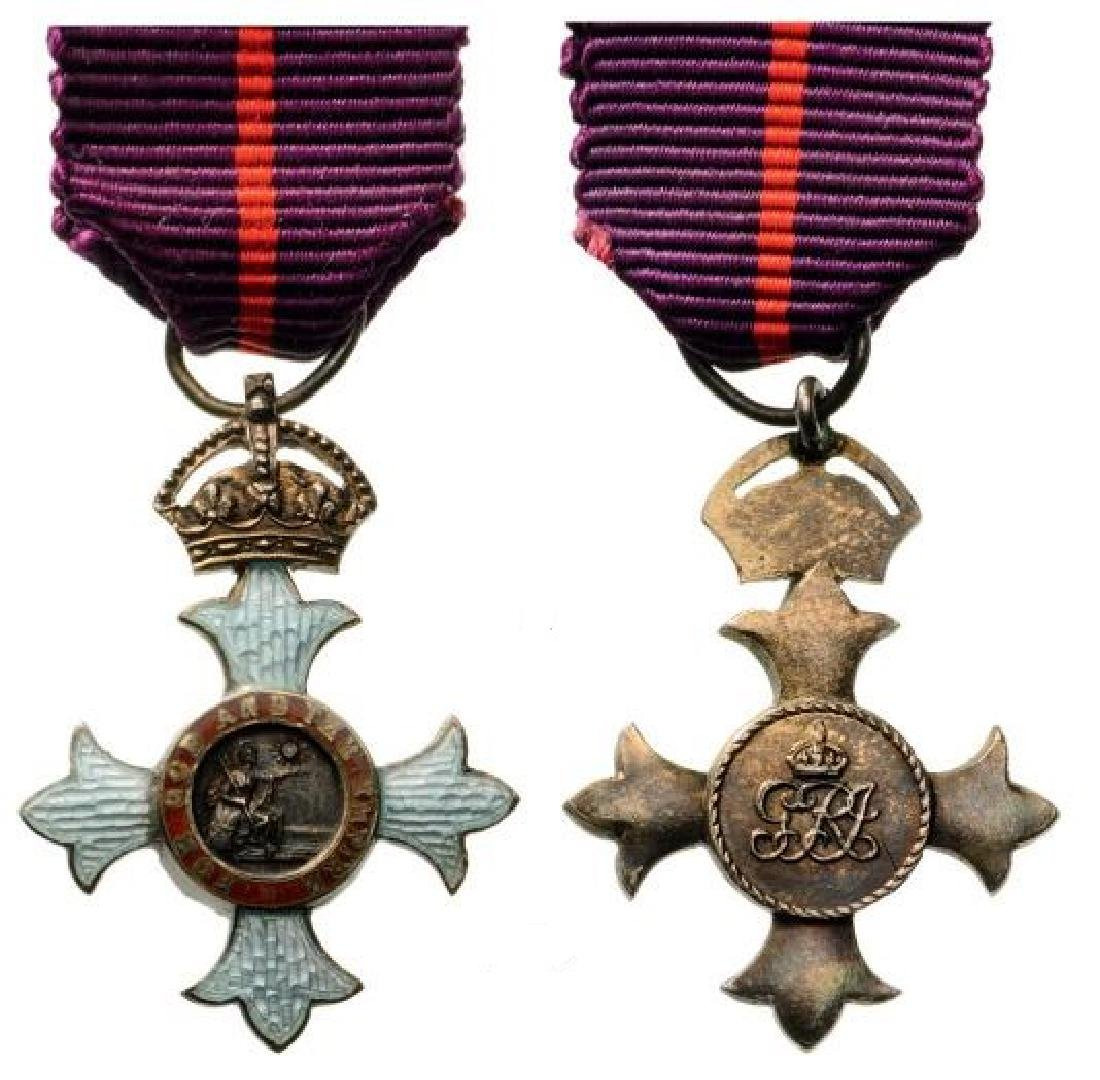 THE MOST HONORABLE ORDER ORDER OF THE BRITISH EMPIRE