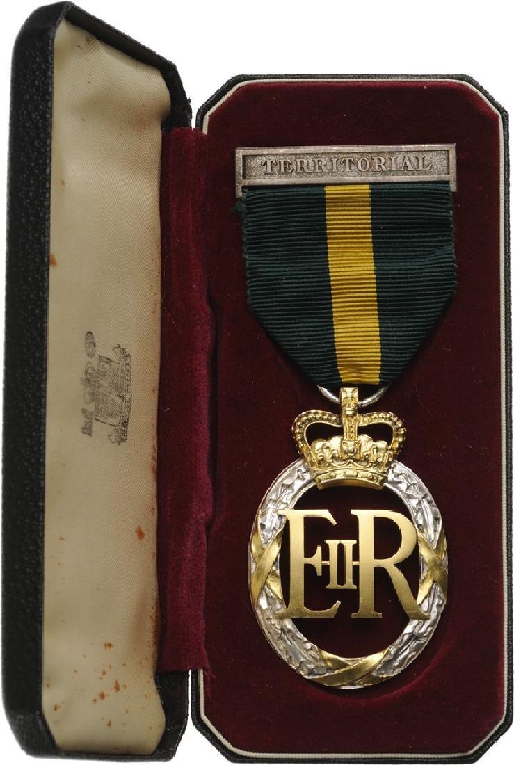 Territorial Decoration  E.II.R., instituted in 1908