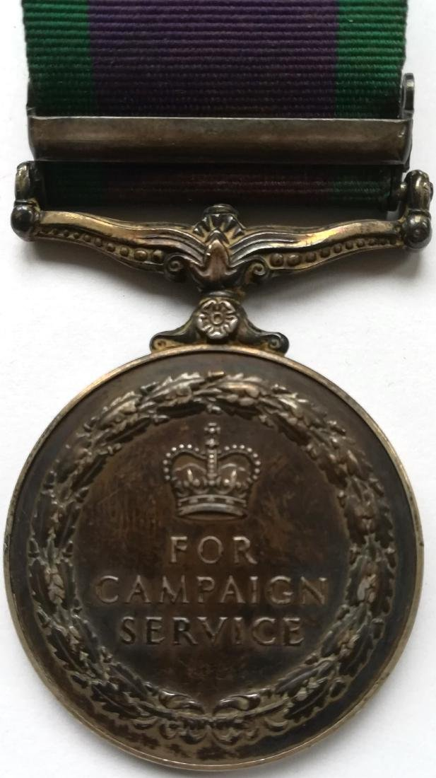 Campaign Service Medal - 2
