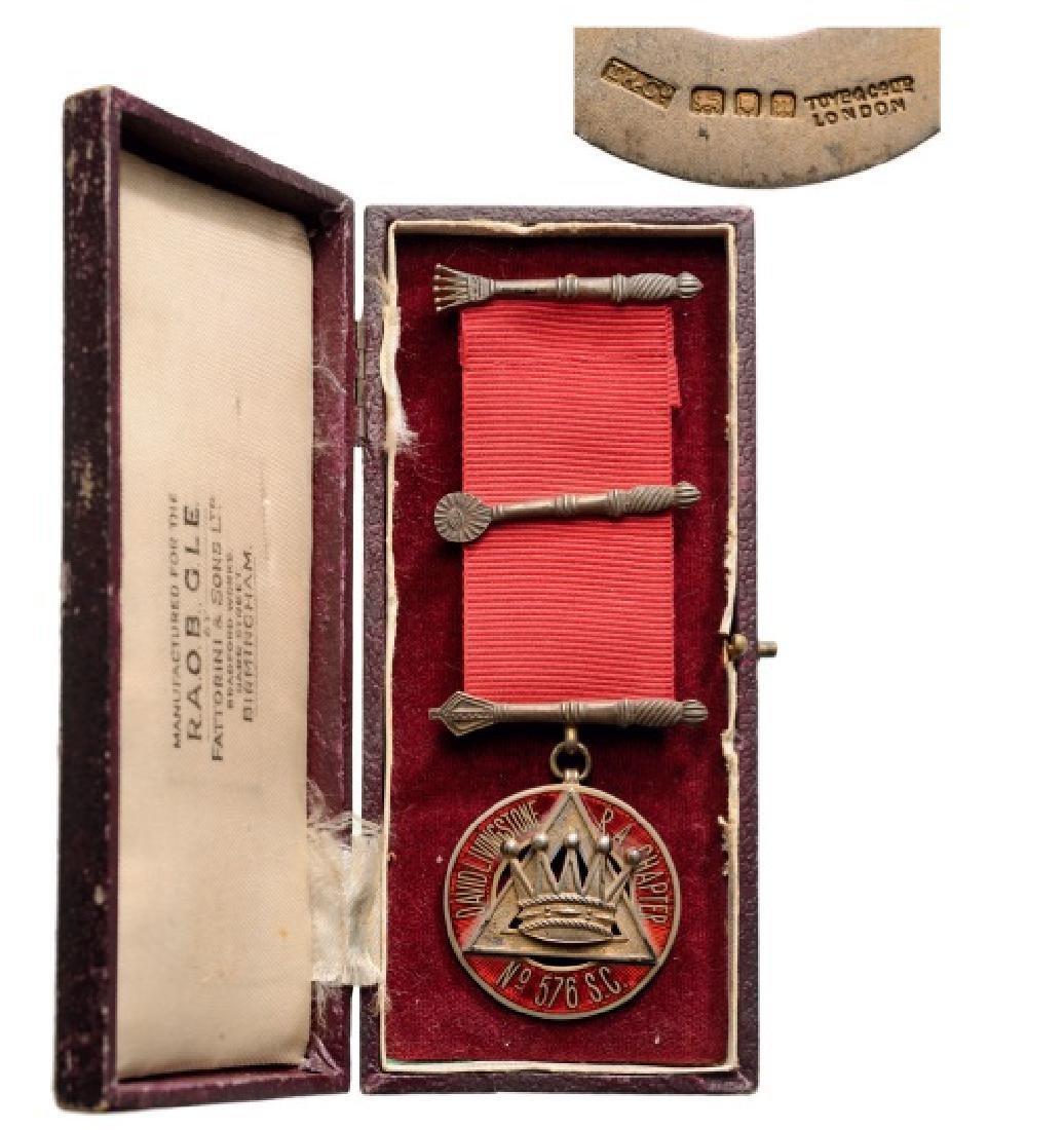 Masonic Decoration, David Livingstone R.A. Chapter