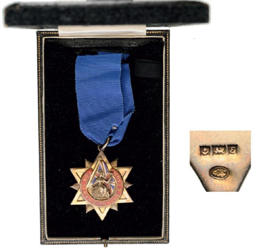 Masonic Decoration, unidentified lodge probably Jewish