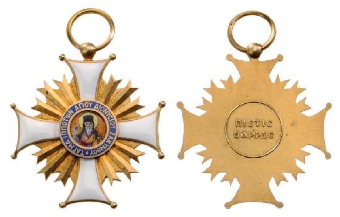 SOVEREIGN ORDER OF ST. DENIS OF ZANTE