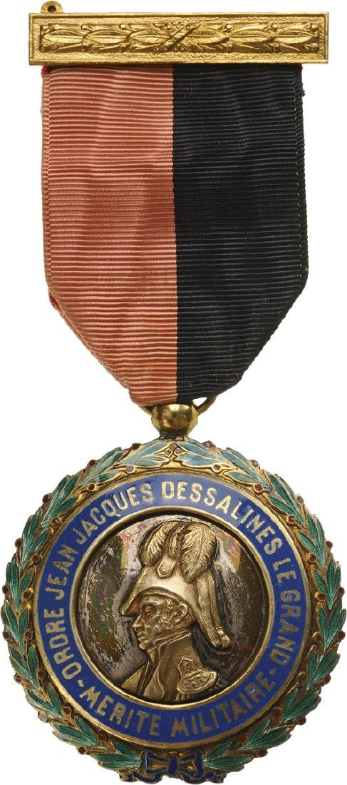 "ORDER OF MILITARY MERIT ""Jean Jacques Desalines"""