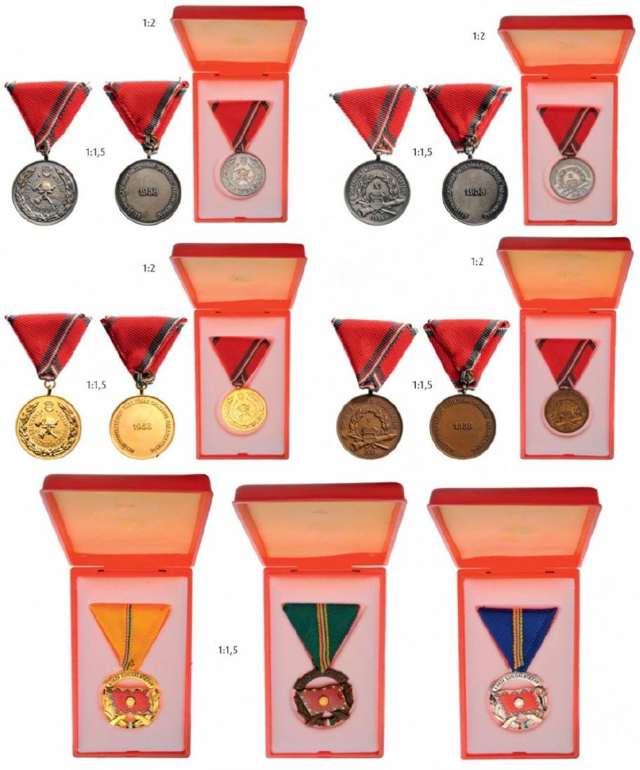 Lot of 7 Medals for Service to the Country