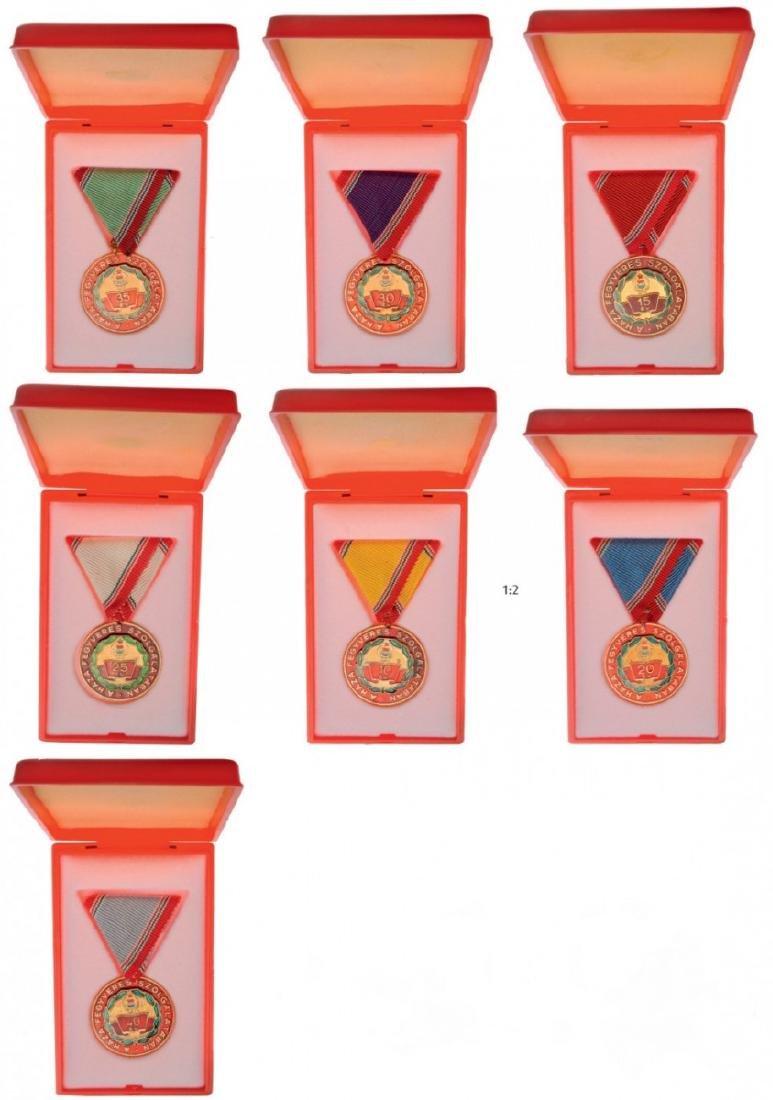 Lot of 7 Defense Service Medals
