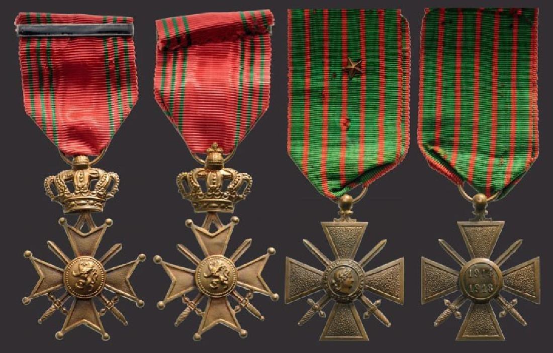 Lot of 2 War Crosses