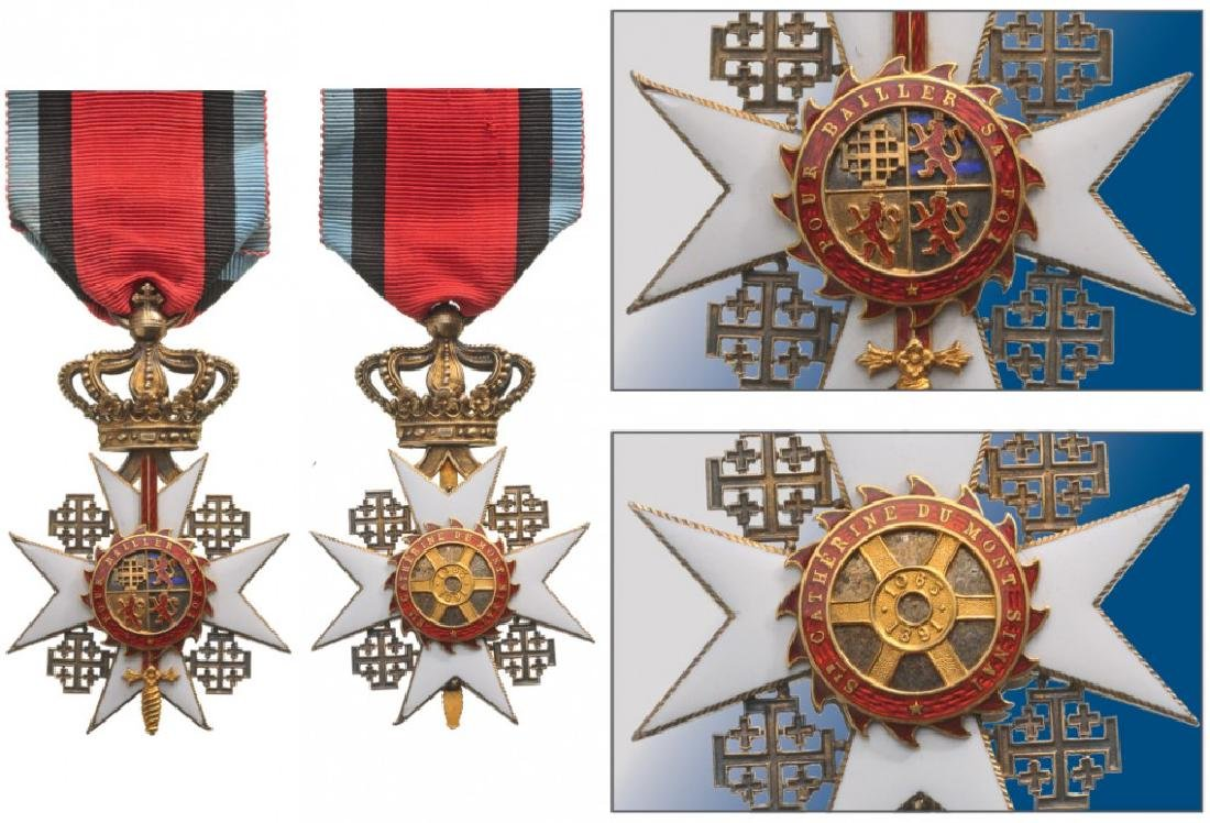 KNIGHT ORDER OF SAINT CATHERINE OF THE SINAI