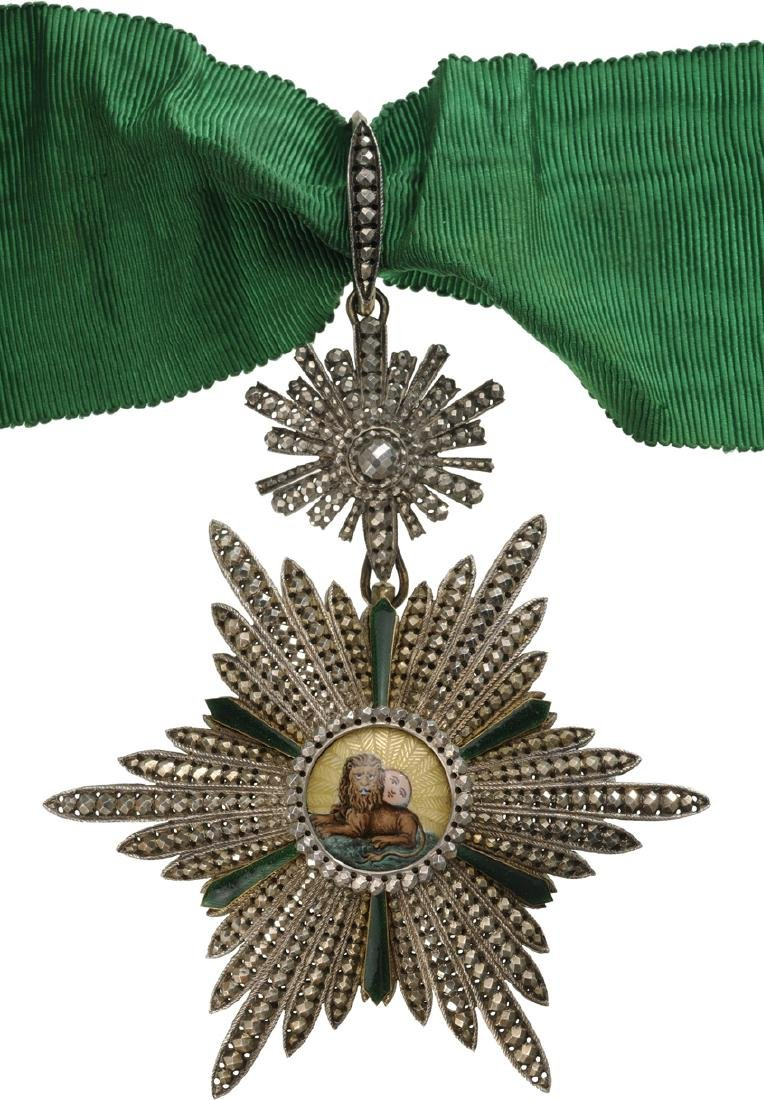 ORDER OF HOMAYOUN (SUN AND LION) - 2