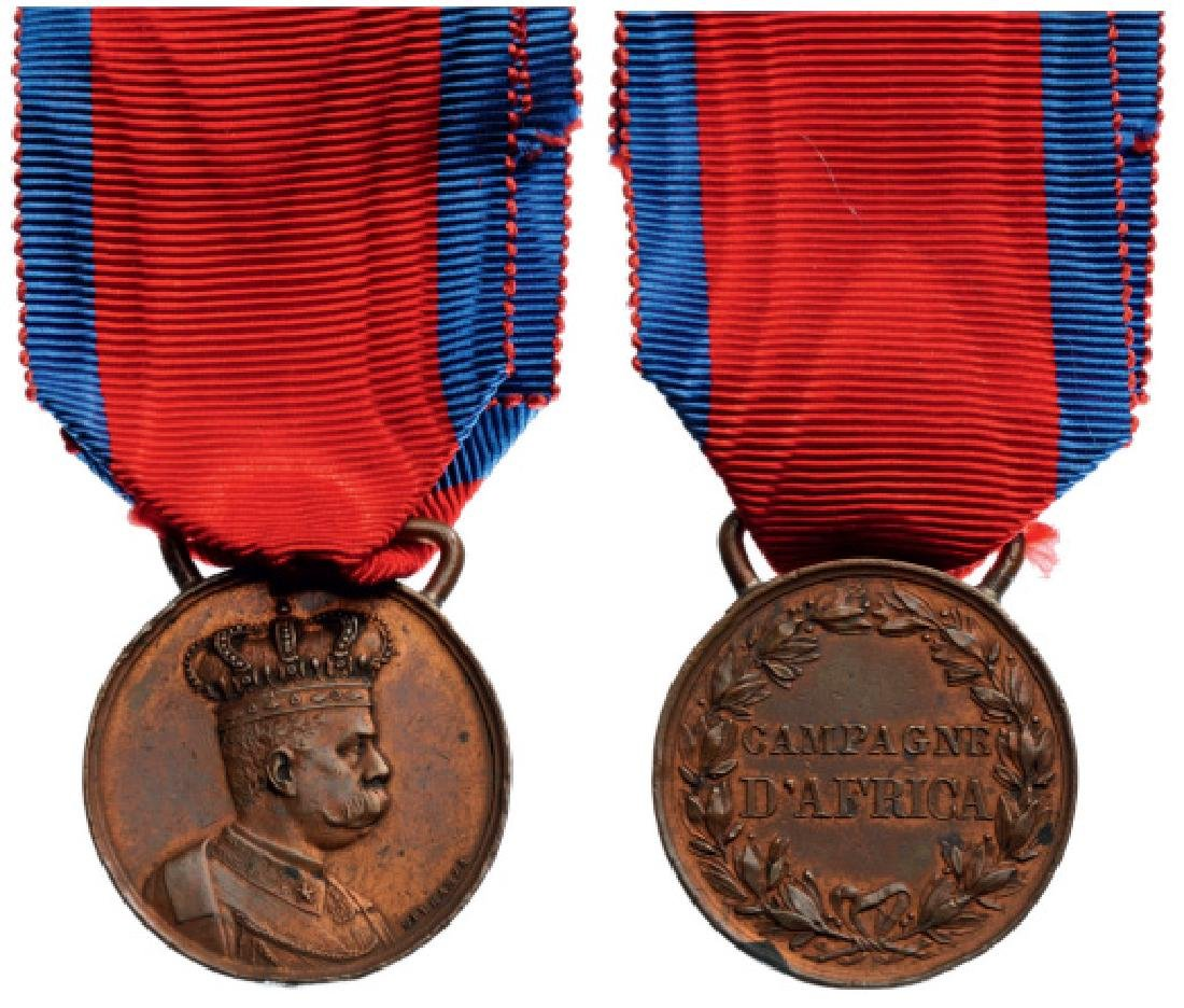 African Campaign 1887-1896 Medal, instituted in 1894