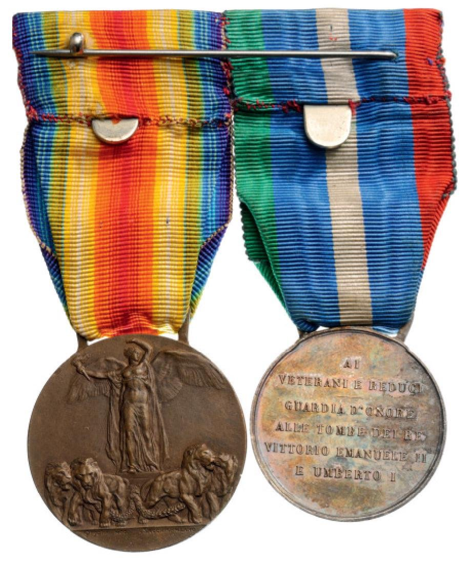 Medal Bar of 2 Decorations - 2