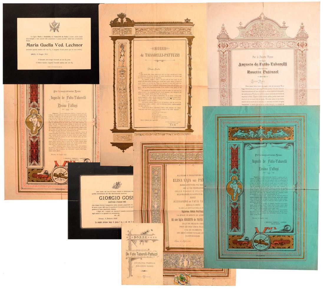 Personnal group of 8 Documents