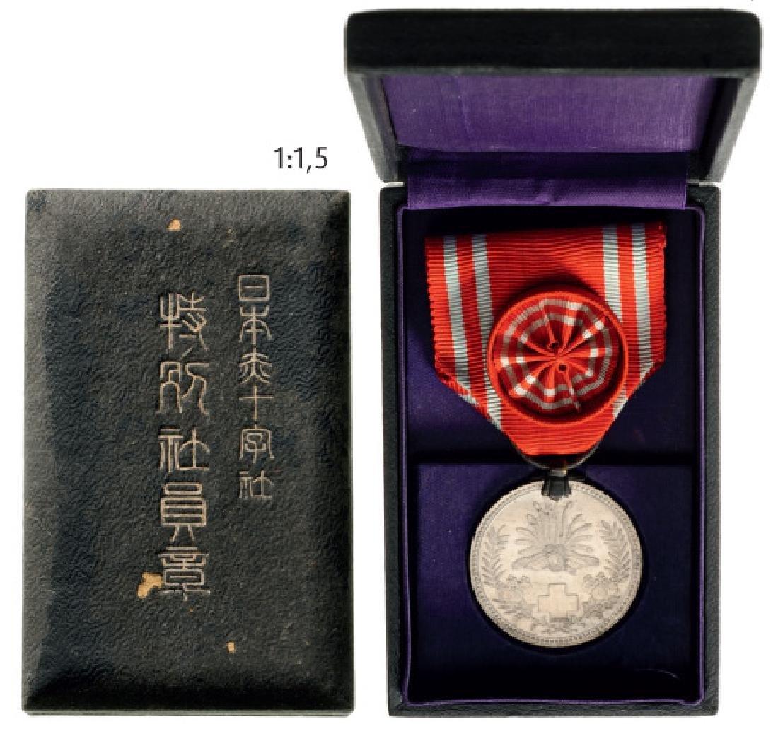 Red Cross Membership Medal, instituted in 1888