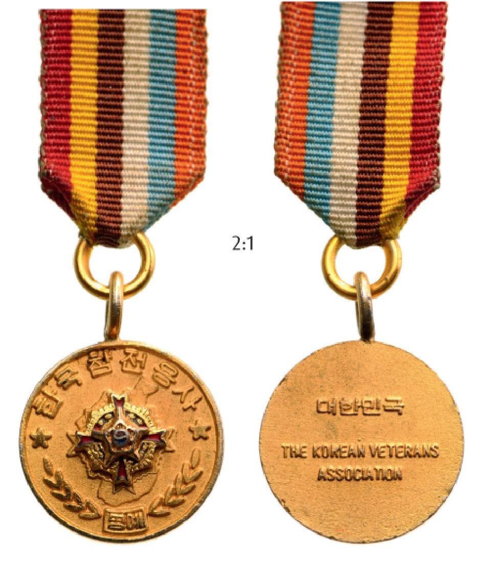 Korean Veterans Association Decoration