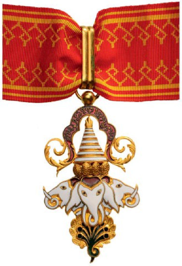 ORDER OF THE MILLION ELEPHANTS AND WHITE PARASOL