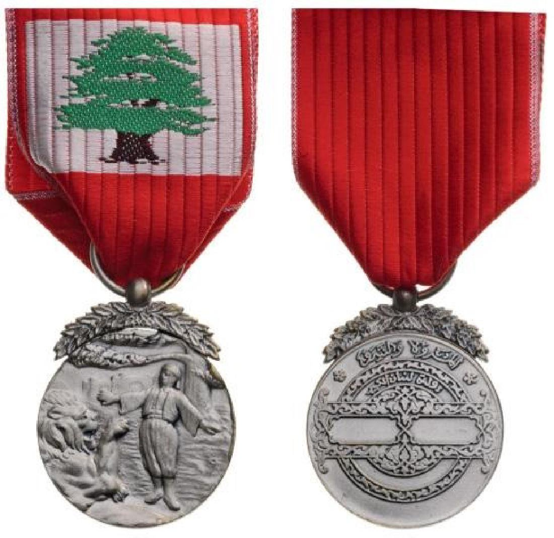 LEBANESE MERIT MEDAL, instituted in 1959