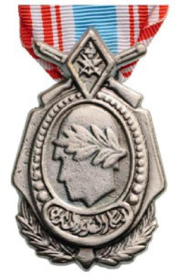MILITARY VALOR MEDAL, instituted in 1971