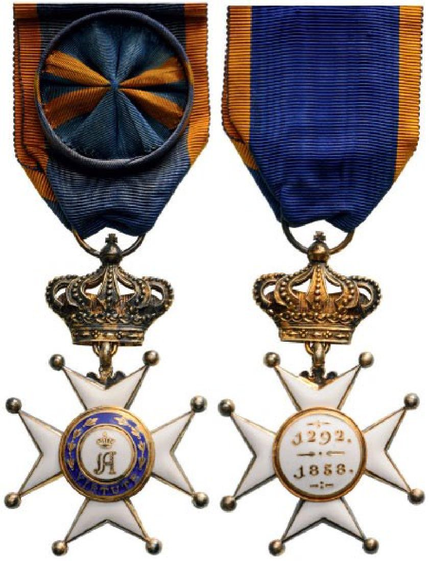 ORDER OF CIVIL AND MILITARY MERIT OF ADOLPH OF NASSAU