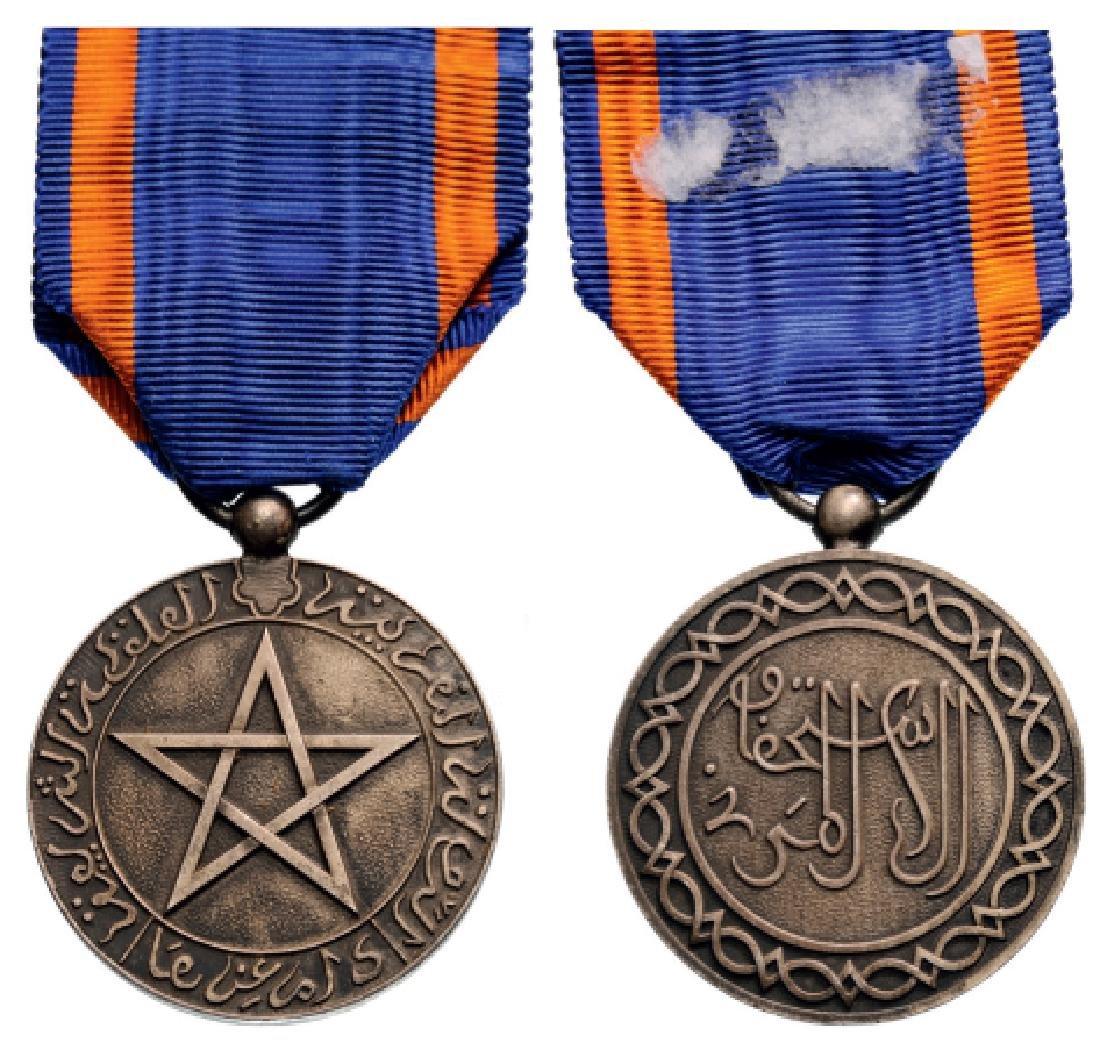 Cherifian Medal of Civil Merit, instituted in 1924