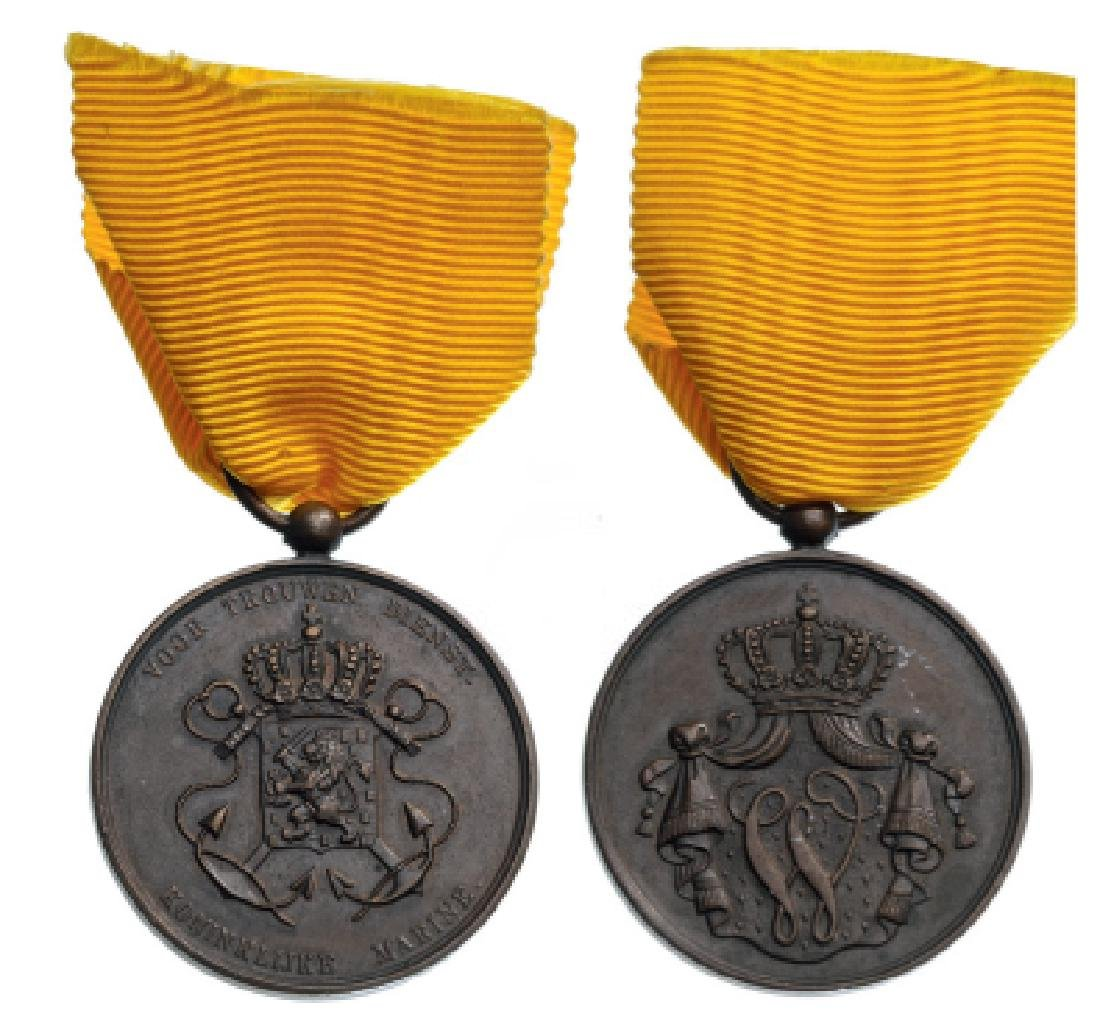 Navy Long Service Medal for NCO's