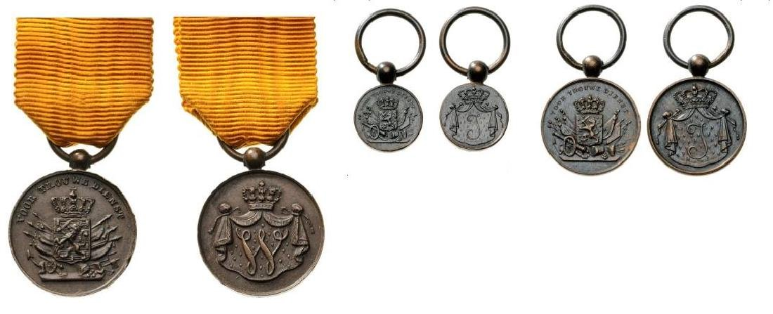 Set of 3 Long Service Medal