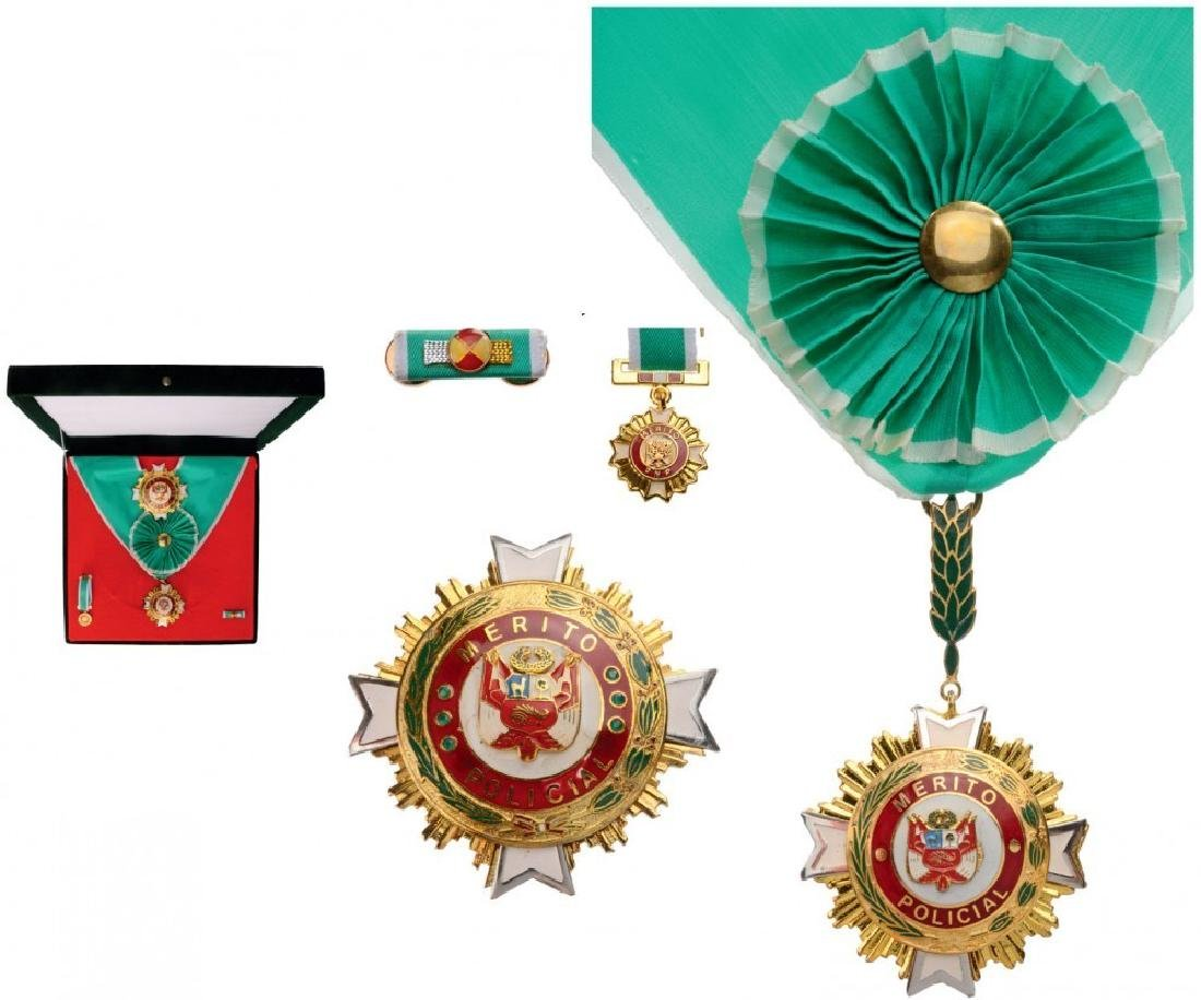 ORDER OF MERIT OF THE NATIONAL POLICE