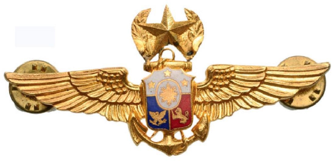 NAVY PILOT WINGS (MASTER AND SENIOR)