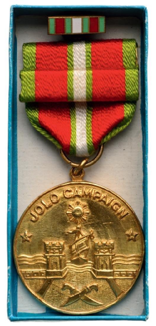 Jolo Campaign Medal