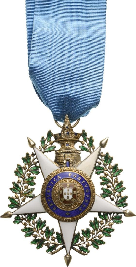 MILITARY ORDER OF THE TOWER AND SWORD, REPUBLIC