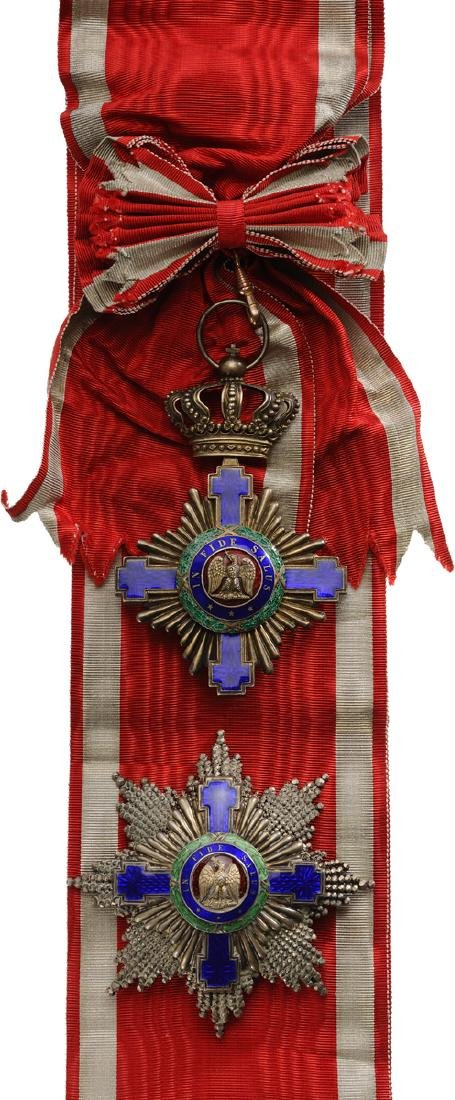 ORDER OF THE STAR OF ROMANIA, 1864 - 3