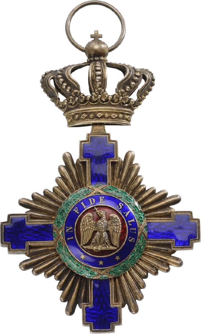ORDER OF THE STAR OF ROMANIA, 1864 - 4