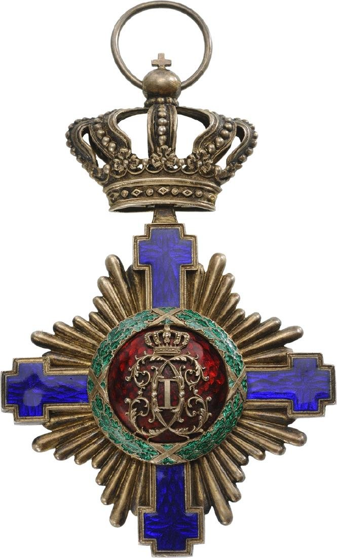 ORDER OF THE STAR OF ROMANIA, 1864 - 5