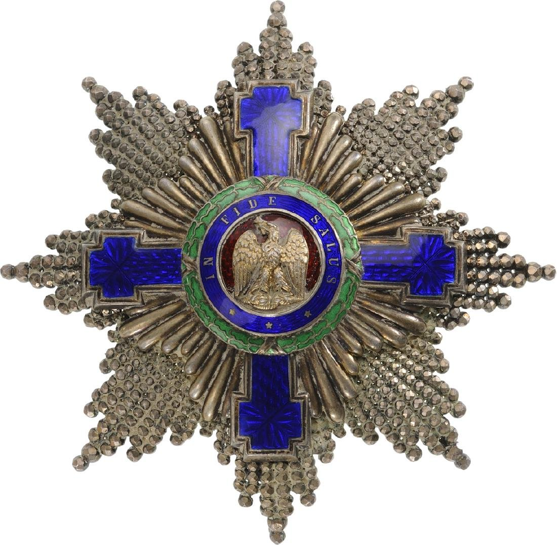 ORDER OF THE STAR OF ROMANIA, 1864 - 6