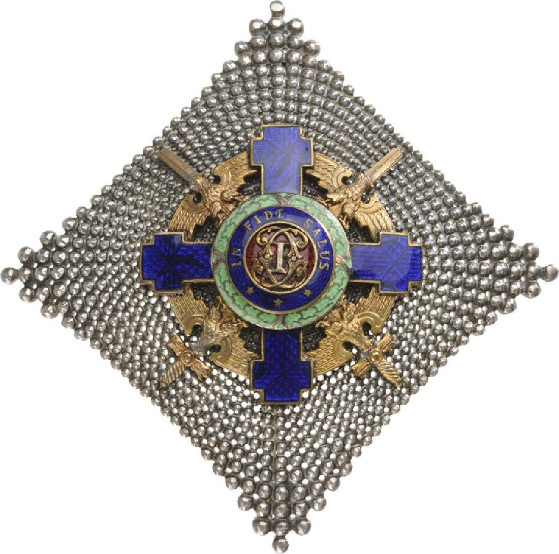 ORDER OF THE STAR OF ROMANIA, 1865