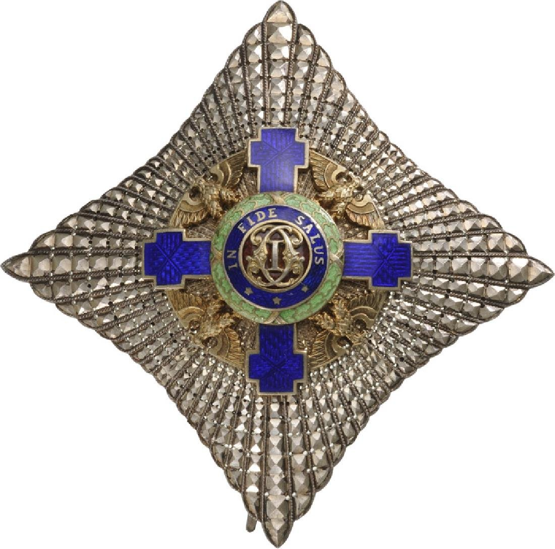 ORDER OF THE STAR OF ROMANIA, 1866