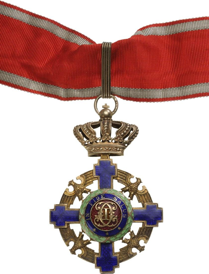 ORDER OF THE STAR OF ROMANIA, 1867 - 3