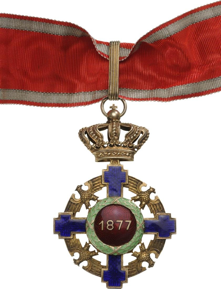 ORDER OF THE STAR OF ROMANIA, 1867 - 4