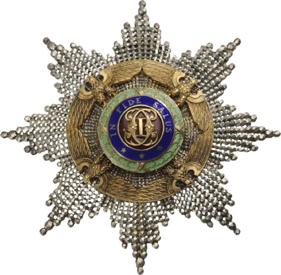 ORDER OF THE STAR OF ROMANIA, 1867 - 6
