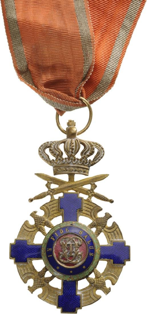 ORDER OF THE STAR OF ROMANIA, 1868 - 3
