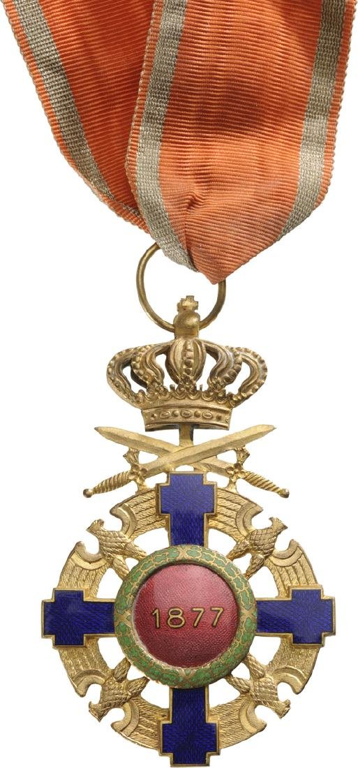 ORDER OF THE STAR OF ROMANIA, 1868 - 4
