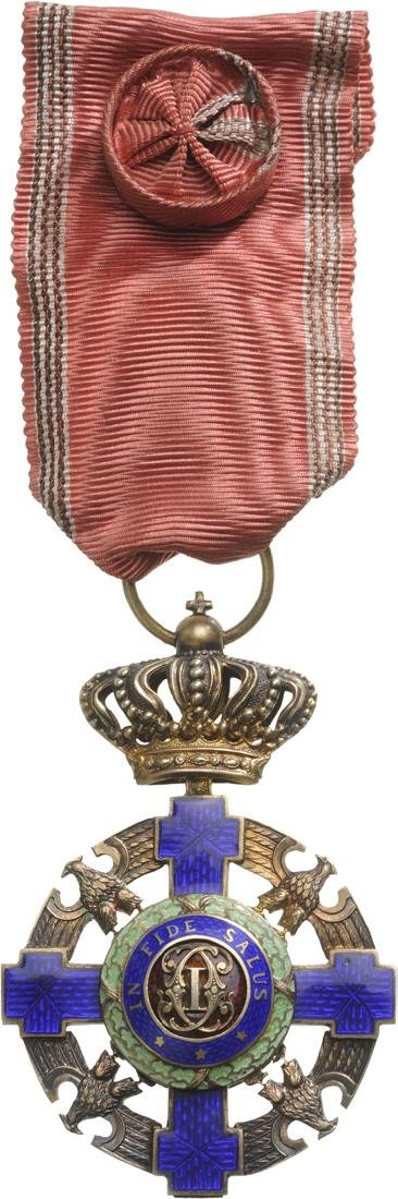 ORDER OF THE STAR OF ROMANIA, 1872