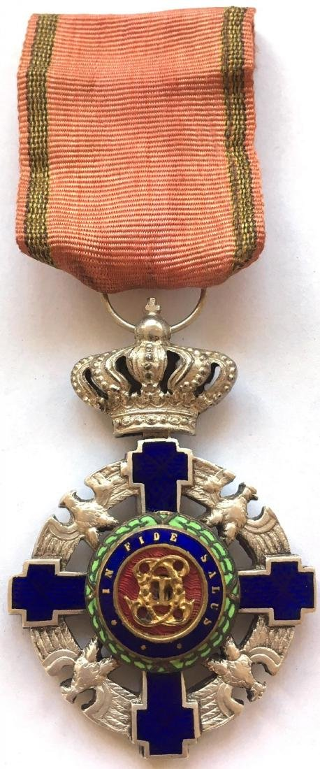 ORDER OF THE STAR OF ROMANIA, 1873