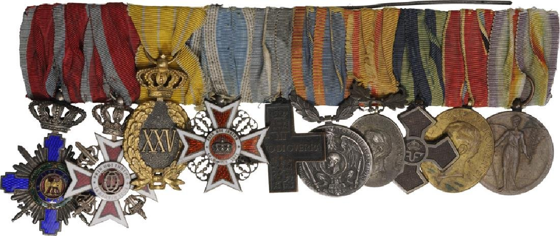 Group of Orders (3) and Medals (7)